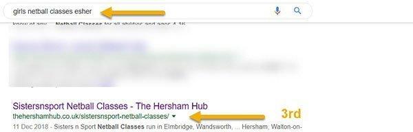 netball esher 600 - Work With The Elmbridge Life Network