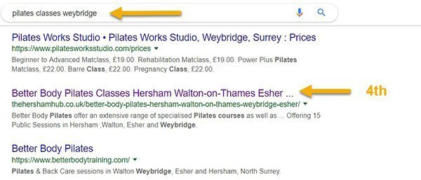 pilates weybridge 600 - Work With The Elmbridge Life Network