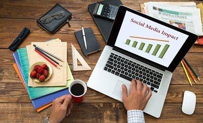 social media impact - Work With The Elmbridge Life Network